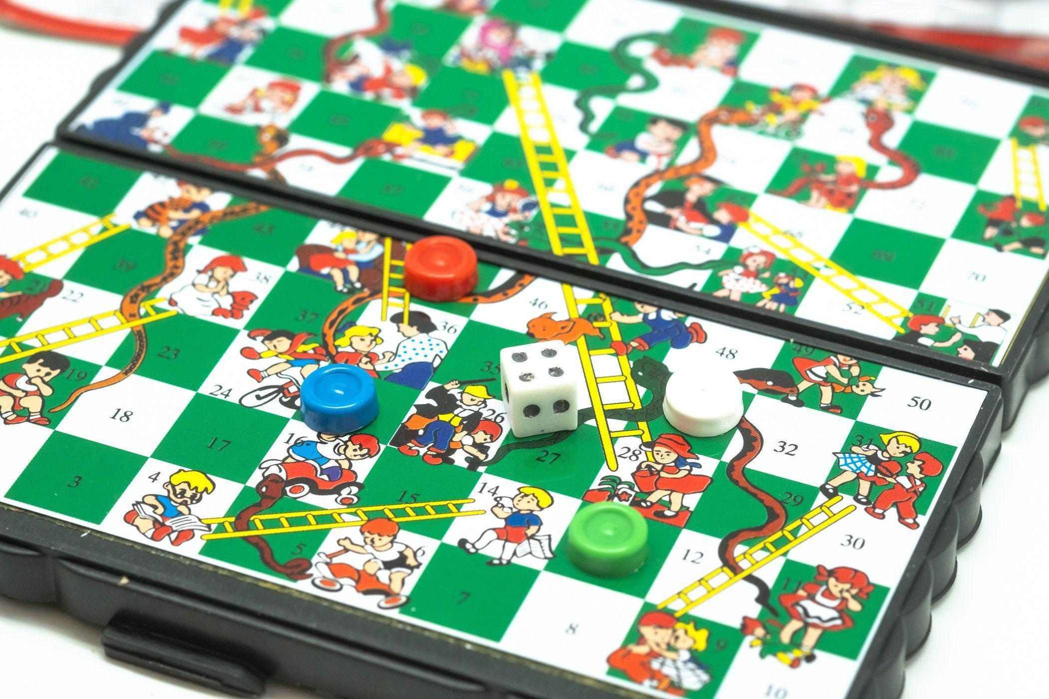 Portable Magnetic Snakes and Ladders Novelty/Children's Items,Fun stuff! OneDollarOnly