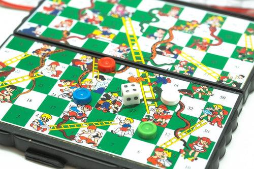 Portable Magnetic Snakes and Ladders Games and Toys One Dollar Only