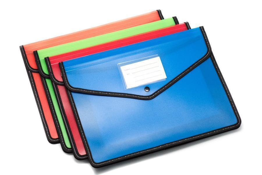 Premium A4 Folder with Expandable Sides,  -  - One Dollar Only