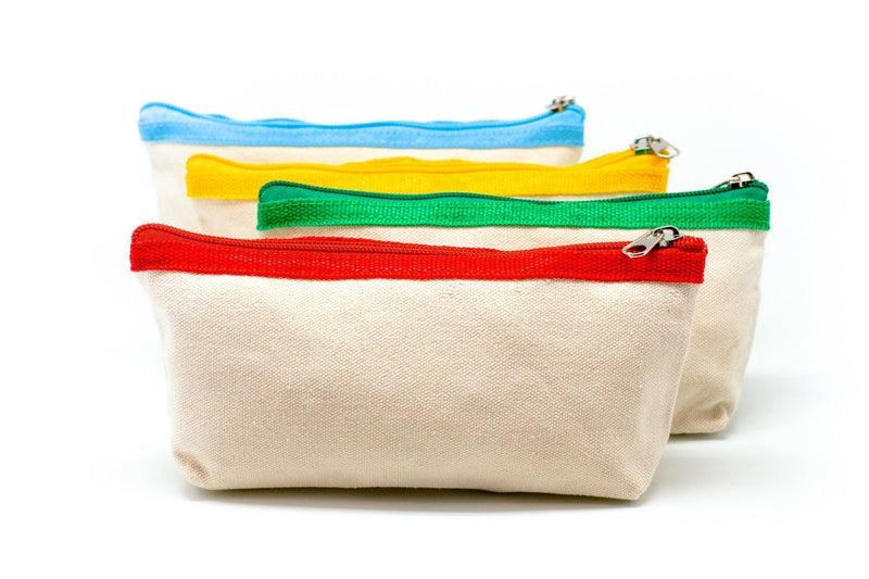 children's day gift Premium Canvas Fabric Pencil Case Cases One Dollar Only