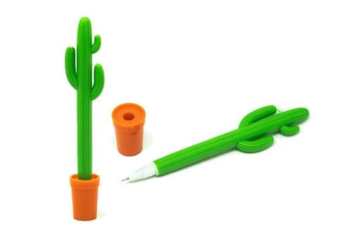 Soft Grip Cactus Pen, Default Title - 250619 - One Dollar Only