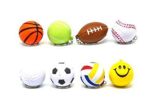Stress Ball Keychain,  - Novelty/Children's Items,Key Chains - One Dollar Only
