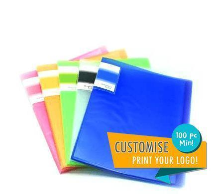 Translucent cover 10 sheet clearholder Everyday Stationery,Stationery OneDollarOnly