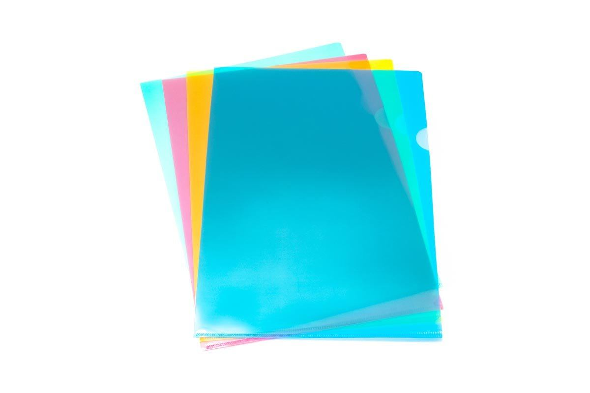 Translucent L Folder (Pack of 12),  - 250619 - One Dollar Only
