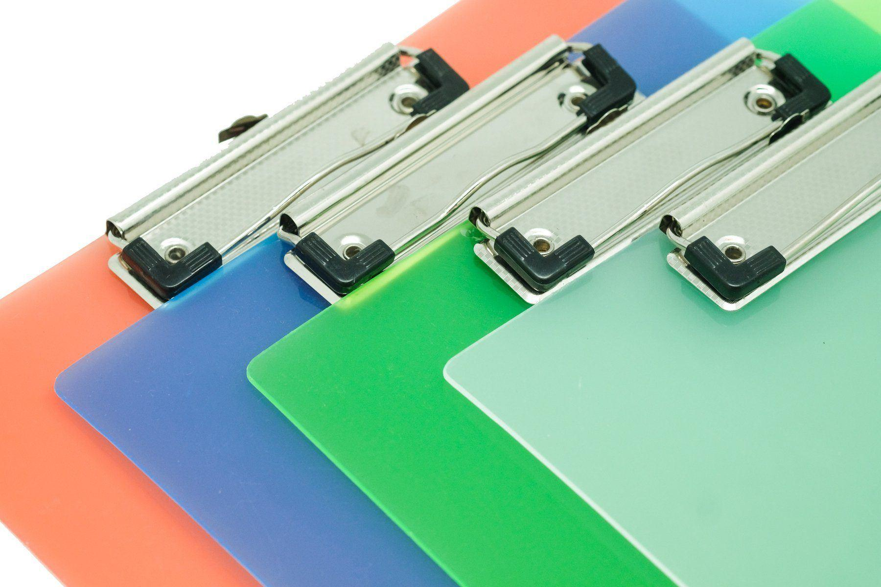 Translucent PP Clipboard,  - Everyday Stationery,Stationery,Corporate Gift Ideas,Printable/Customizable - One Dollar Only