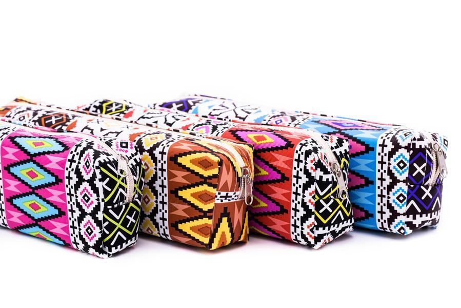 Tribal Design Pencil Case,  -  - One Dollar Only