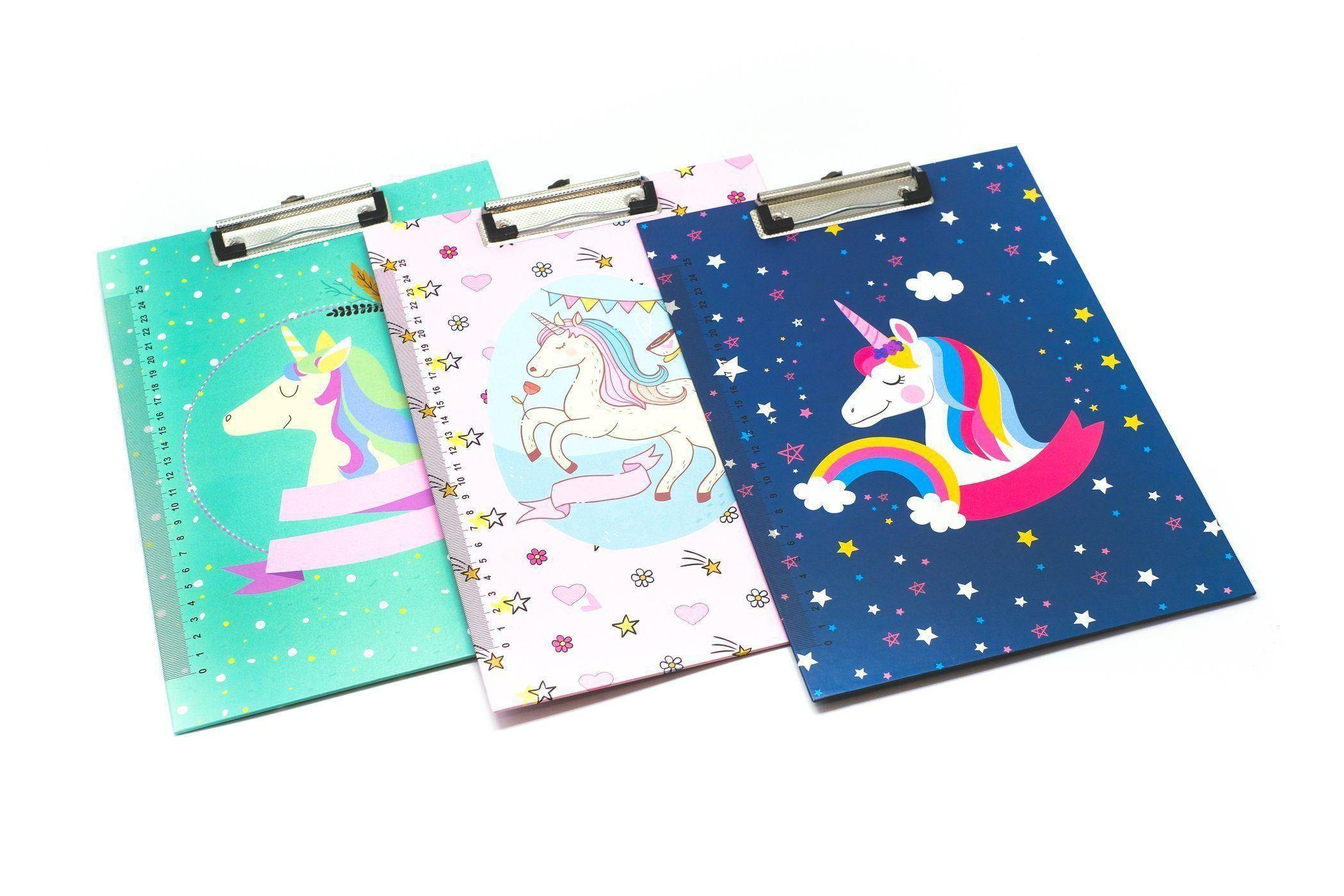 Unicorn Design Clipboard,  -  - One Dollar Only