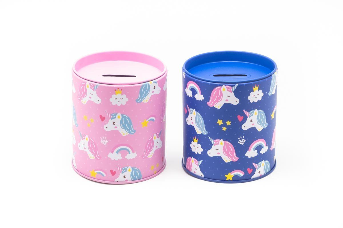 Unicorn Design Coin Box,  - 250619 - One Dollar Only