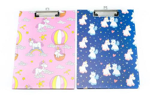 Unicorn Motif Design Clipboard Files and Folders One Dollar Only