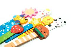Wooden Slim Bookmark (2pc) Novelty/Children's Items,Bookmarks,Wooden Products OneDollarOnly